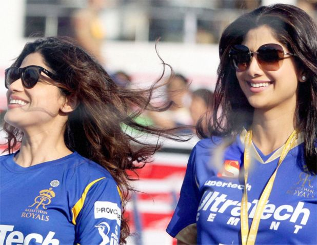 Shilpa Shetty and her sister Shamita Shetty