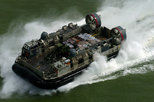 US Navy Landing Craft Air Cushion