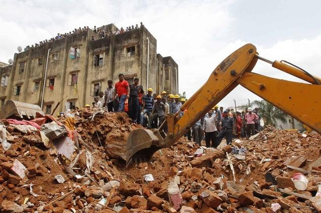 Buildings Collapse in Vadodara