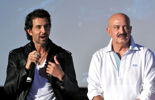 Hrithik and Rakesh Roshan