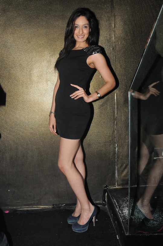 Tanya Malik at the launch of Ameesha Patel
