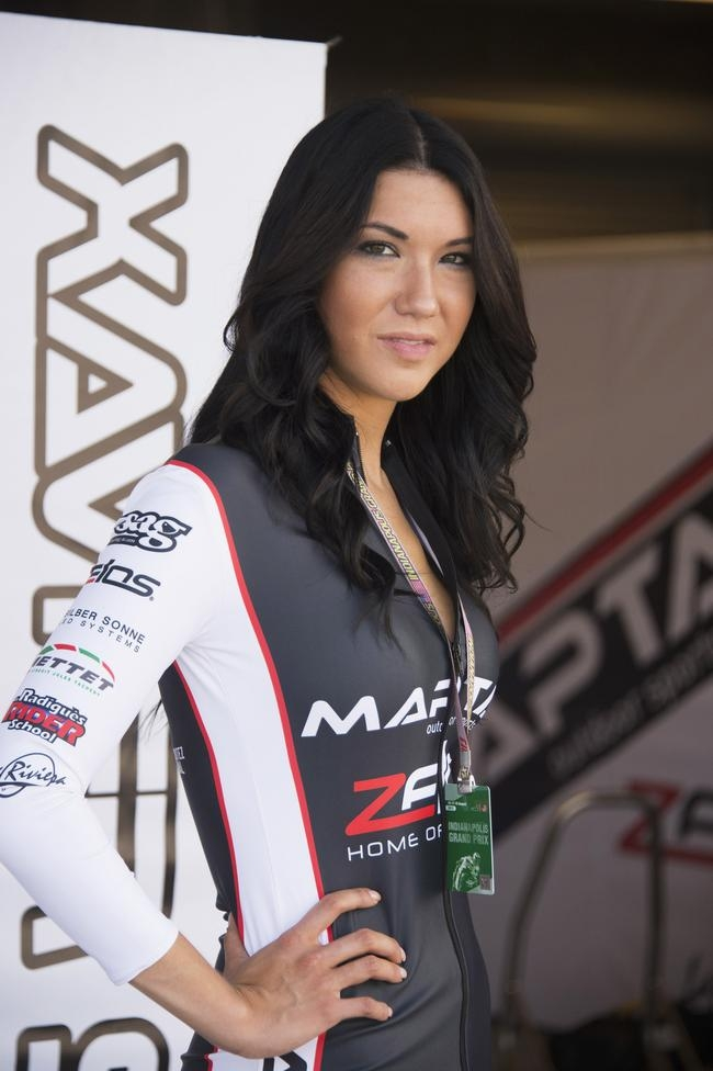 Grid Girls at Indianapolis MotoGP