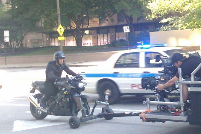 Aamir Khan shoots in Chicago for Dhoom 3