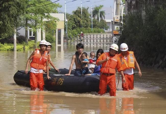 Heavy Rains Hit China