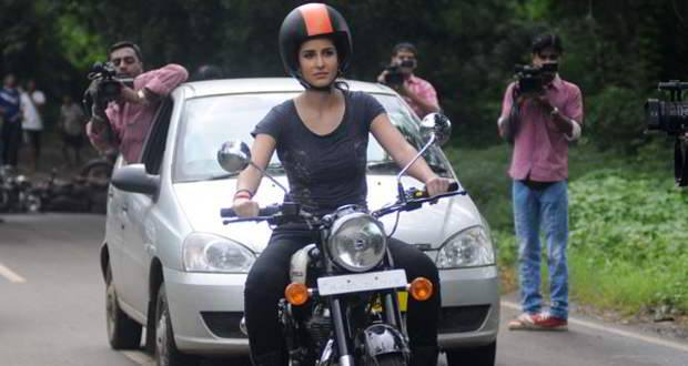Katrina Kaif shoots in Chicago for Dhoom 3
