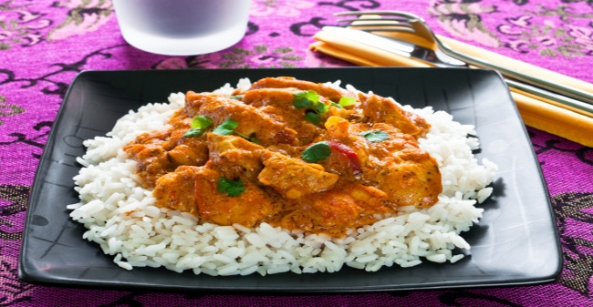 Tiranga Curry Rice