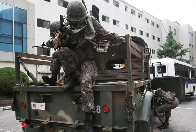 South Korea Holds Anti-Terror Drill