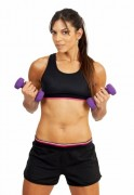 Arm Workouts: Top 10 Best Arm Exercises Arm curl with barbell or dumbbell.