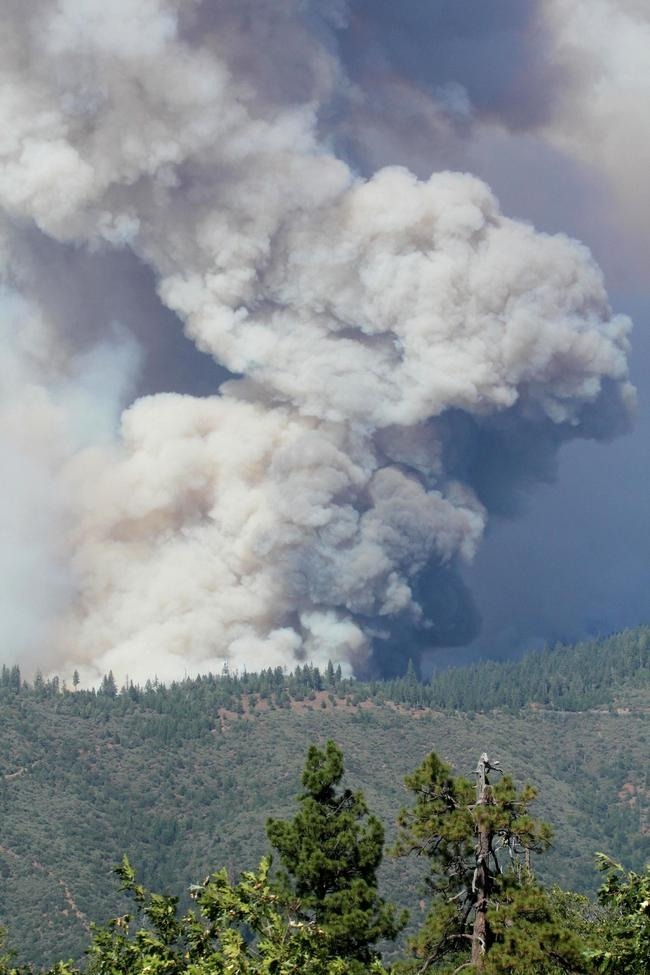 Raging Wildfire in California