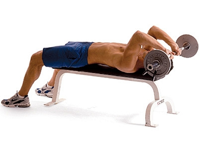 Arm Workouts: Top 10 Best Arm Exercises French press or Skull crusher.