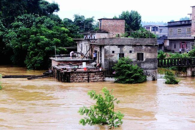 Heavy Rains Hit China