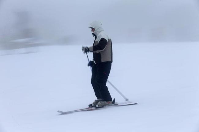Ski Season At Mount Buller
