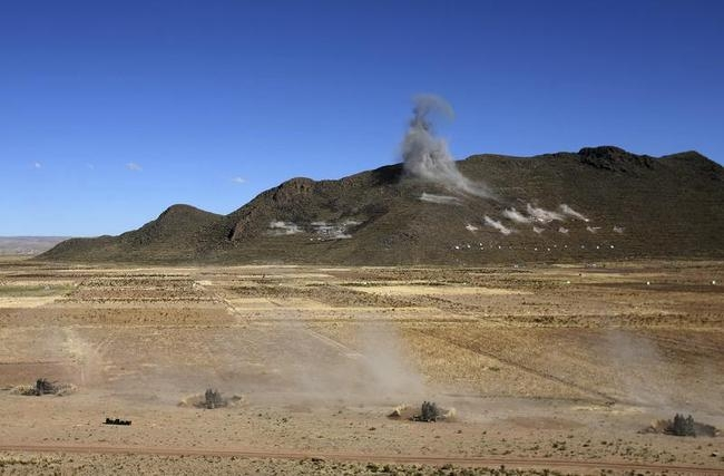 Bolivian Military Exercise
