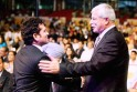Sir Richard Hadlee and Sachin Tendulkar