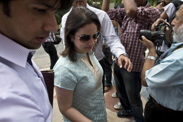 Anjali Tendulkar at Parliament