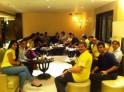Saina Nehwal with Hyderabad Hotshots Team
