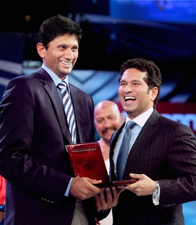 Sachin Tendulkar and Venkatesh Prasad