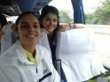 Saina Nehwal with Taapsee Pannu