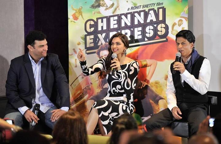 Siddharth Roy Kapur, Deepika Padukone, Shah Rukh Khan