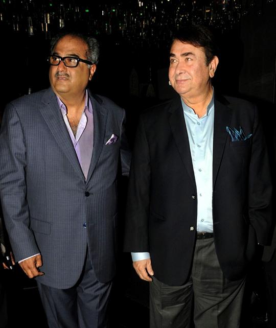 Boney Kapoor, Randhir Kapoor