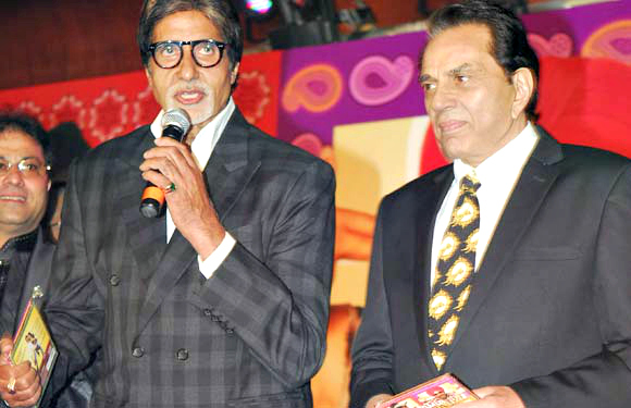 Amitabh Bachchan and Dharmendra