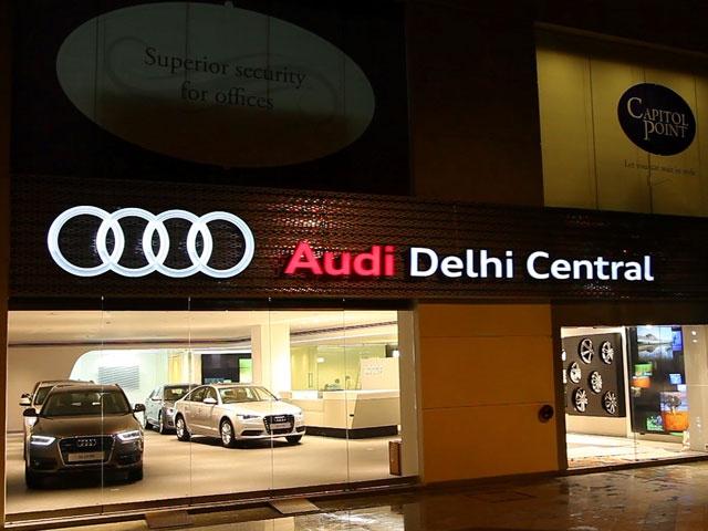 Audi Delhi Central Showroom