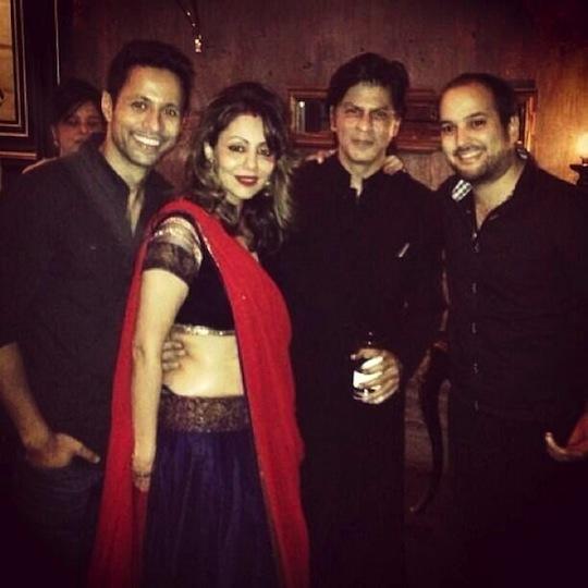 Gauri, SRK EID PARTY
