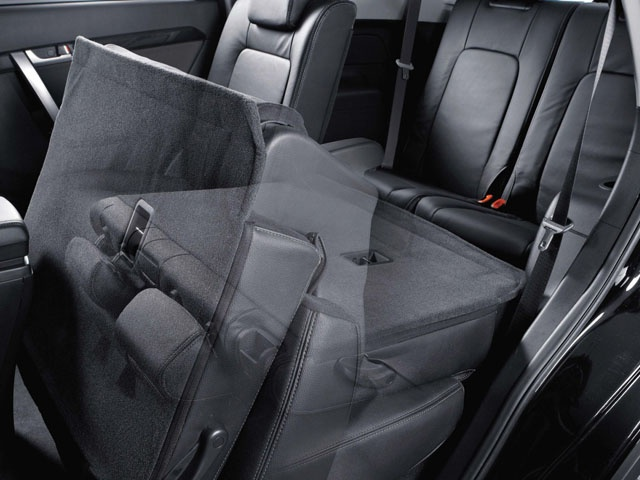 Adjustable seats make it easy to enter and exit