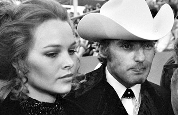 Dennis Hopper and Michelle Phillips