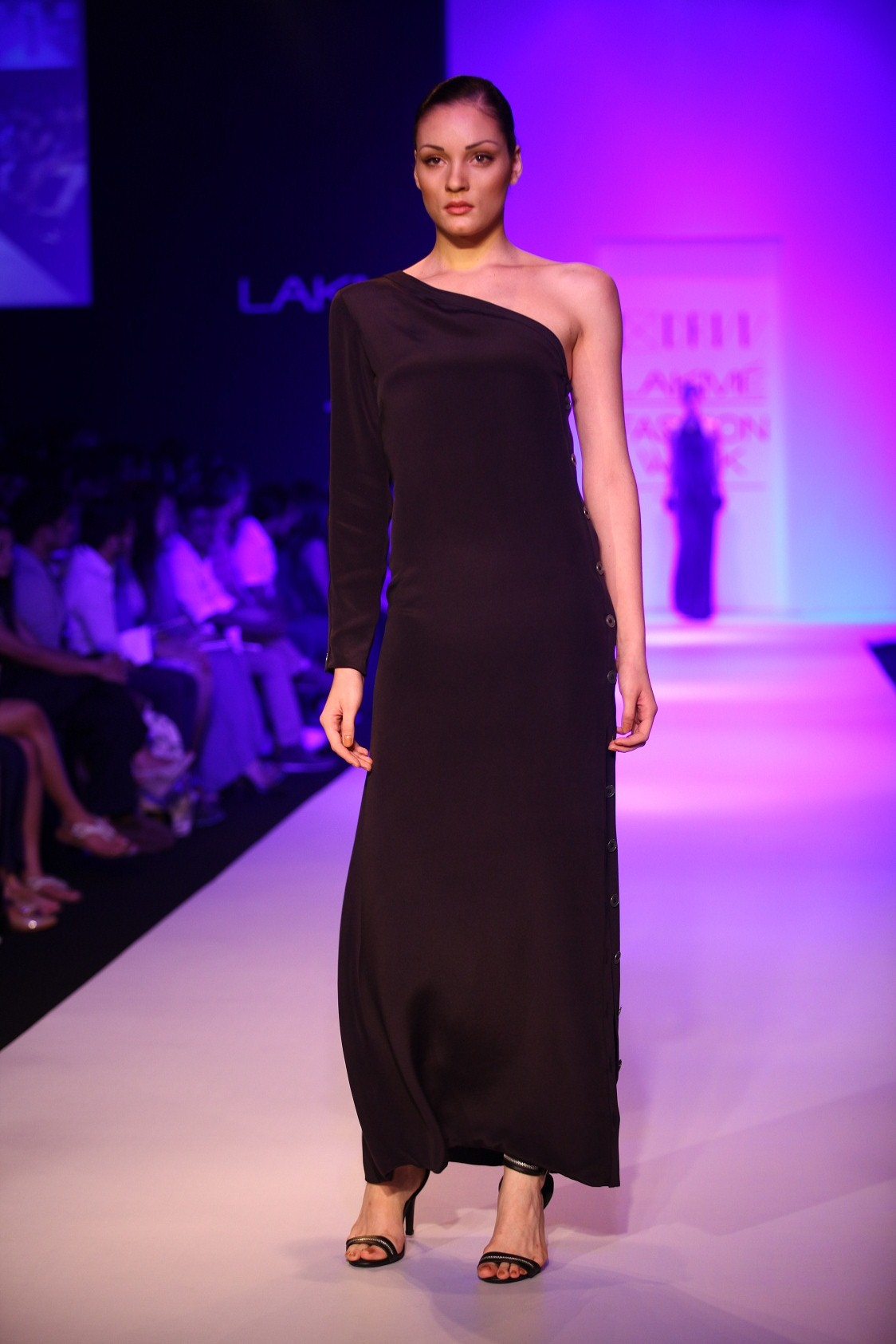 DRVV by Dhruv Kapur's range, with the quirky title at Lakmé Fashion Week Winter/Festive 2013, played a staccato like tune of unbalanced asymmetry that gave a sense of abandonment to the silhouettes.