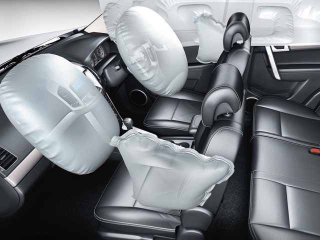The Captiva has made most of its safety equipment standard across the model offering