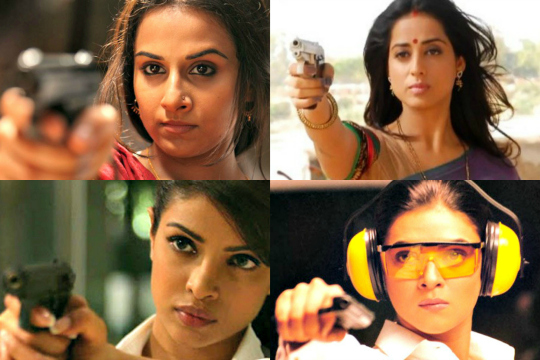bolly babes with guns