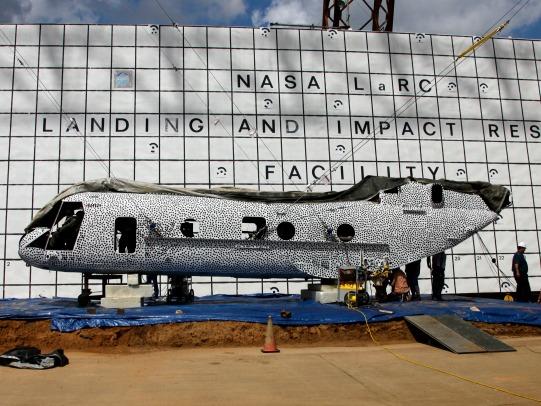 NASA to Crash Test Helicopter