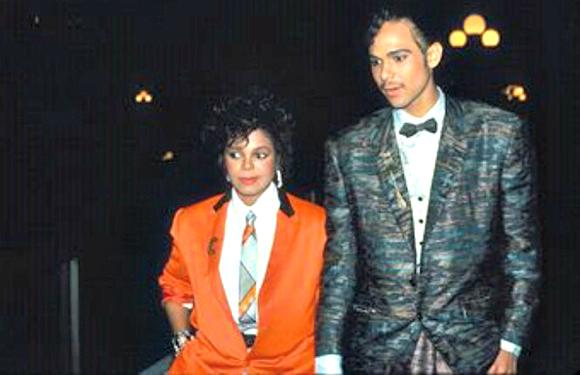 Janet Jackson and James DeBarge