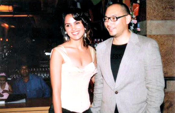 Kelly Dorjee and Lara Dutta