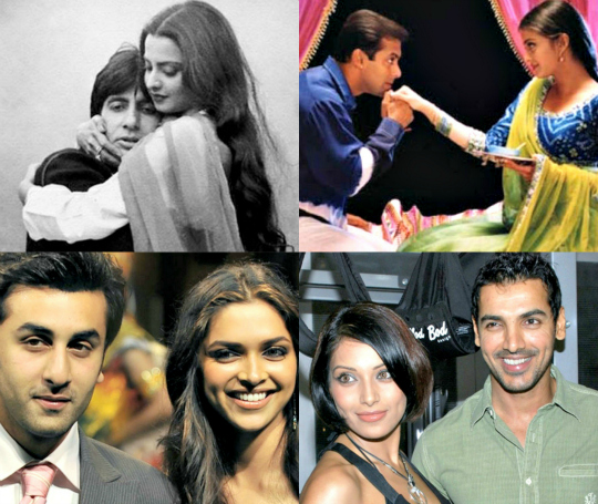 bollywood break-ups