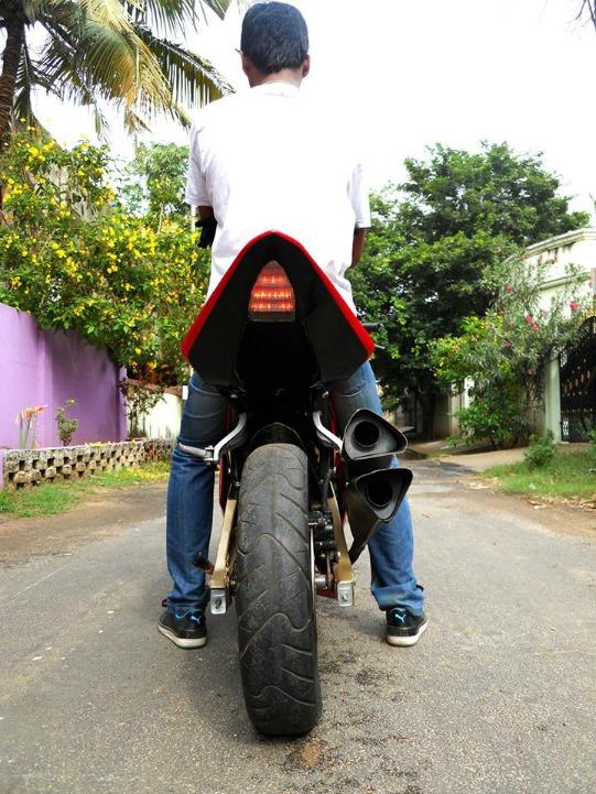 Handmade Sports Bike