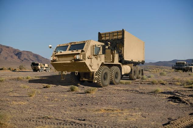 Oshkosh Heavy Traction Vehicle