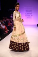 """Inspired by the """"Char Bagh"""" or four gardens of Persia, the collection of the same name by Payal Singhal enchanted at Lakmé Fashion Week Winter/Festive 2013. Using the beauty of """"Char Bagh's"""" architecture and nature, the designer translated the"""