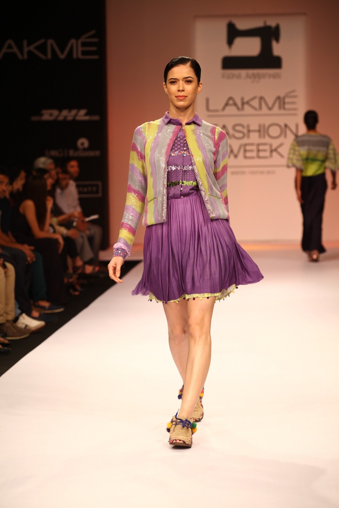 """unconventional fashion with popular fabrics, the collection by Richa Aggarwal, was a fusion of """"sportswear with couture ideals"""", which made an unusual impact at Lakmé Fashion Week Winter/Festive 2013. Experimenting profusely with traditional han"""