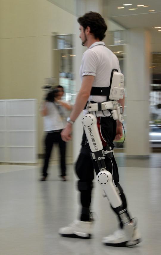 Robot-Suit for Elderly