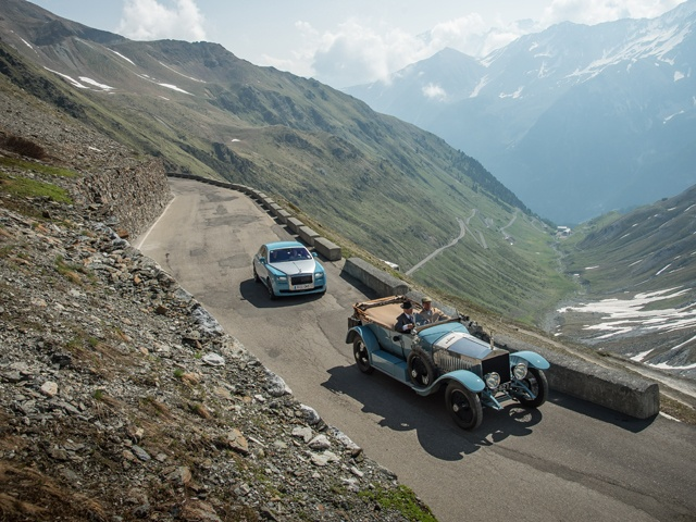 Rolls-Royce 2013 Centenary Alpine Trial