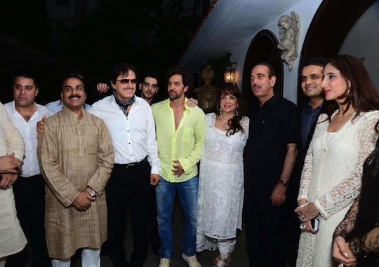 Sanjay Khan hosted a star studded Iftar party at his Juhu residence in Mumbai