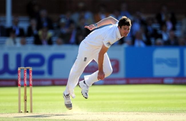 Fast Bowler: James Anderson – England