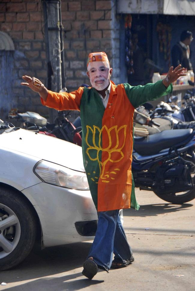 BJP Celebrates Assembly Polls Win