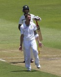 Dale Steyn picked up Cheteshwar Pujara after 416 wicketless balls in the series