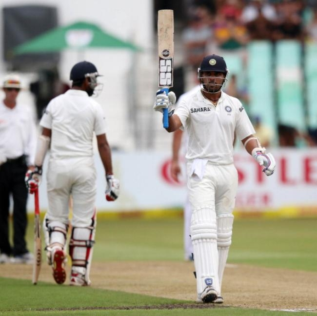 First half-century outside sub-continent for Murali Vijay