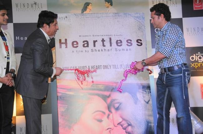 Sachin Tendulkar launching the music album of Heartless