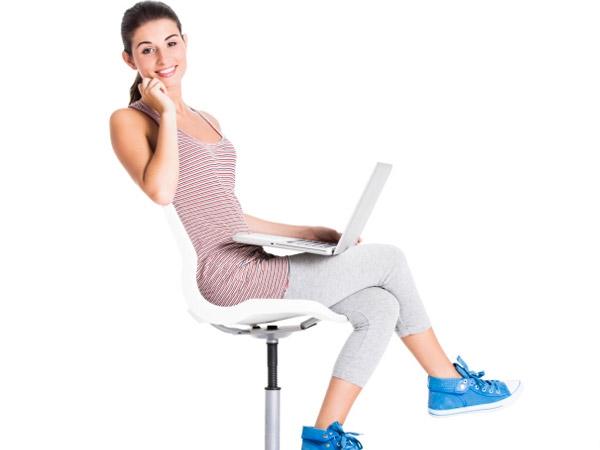 Seated leg lifts