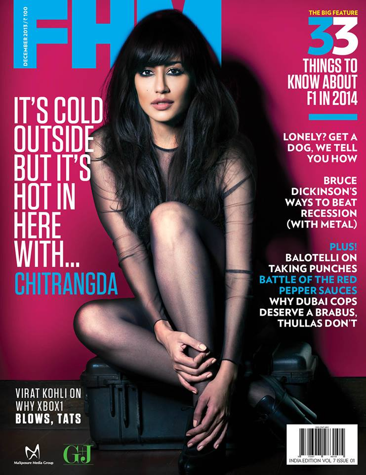 Chitrangada Singh for FHM India